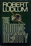 The Bourne Identity hardcover 1st Edition Robert Ludlum book cover